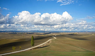Crete Senesi Art Print by Alex Gur