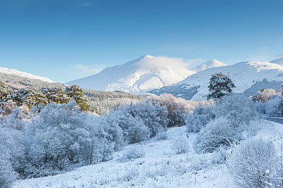 Digital Art - Crianlarich - Scottish Highlands by Pat Speirs