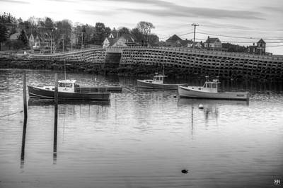 Photograph - Cribstone Bridge by John Meader