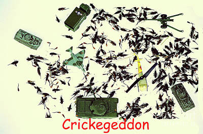 Photograph - Crickegeddon by Joe Jake Pratt
