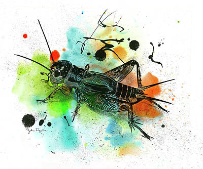 Cricket Art Print