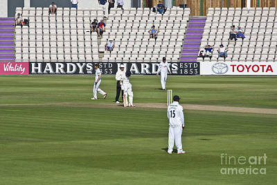 Photograph - Cricket Match Hampshire by Terri Waters