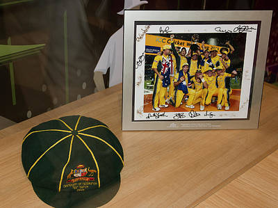 Photograph - Cricket Memorabilia  by Miroslava Jurcik