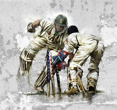 Cricket1 Art Print by James Robinson