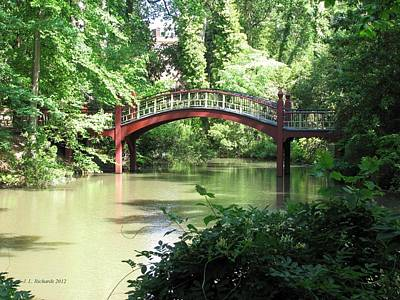 Photograph - Crim Dell Bridge Iv by Jennie  Richards