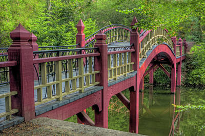 Photograph - Crim Dell Bridge Summer by Jerry Gammon