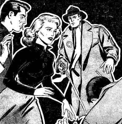 Crime And Punishment Art Print by Otis Porritt