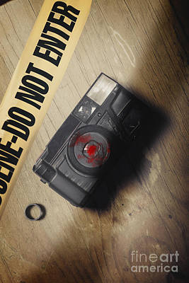 Betrayal Photograph - Crime Scene Evidence Of The Betrayal by Jorgo Photography - Wall Art Gallery