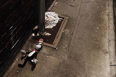 Urban Photograph - crime scene investigation I by Kreddible Trout