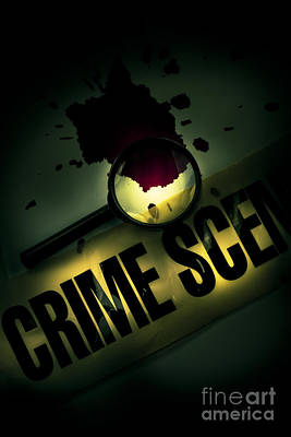 Crime Scene Investigation Art Print