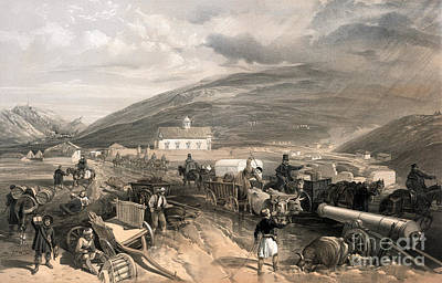 Drawing - Crimean War, Supply Road.  by Granger