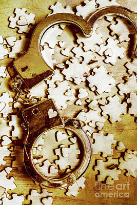 Cuff Bracelet Photograph - Criminal Affair by Jorgo Photography - Wall Art Gallery