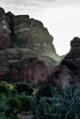Photograph - Crimson Cliffs 04-019 by Scott McAllister