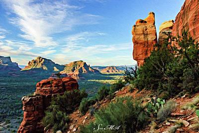 Photograph - Crimson Cliffs 07-043 by Scott McAllister