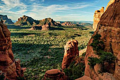 Photograph - Crimson Cliffs 07-051 by Scott McAllister