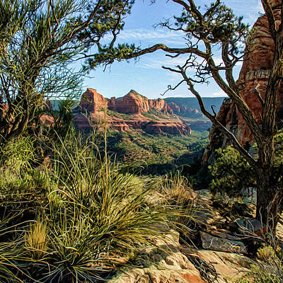 Photograph - Crimson Cliffs 07-063 by Scott McAllister