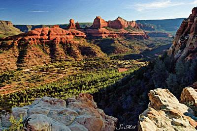 Photograph - Crimson Cliffs 07-065 by Scott McAllister