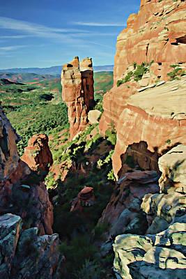 Photograph - Crimson Cliffs 07-066 by Scott McAllister