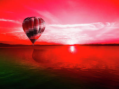 Photograph - Crimson Flight by joao G12