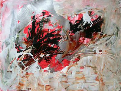 Crimson Lake  Art Print