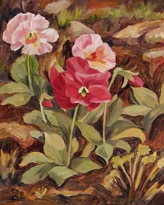 Painting - Crimson Pansy by Cheryl Pass