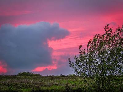 Photograph - Crimson Sunset In Irish Spring by James Truett