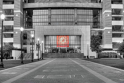 University Of Alabama Photograph - Crimson Tide Football by JC Findley