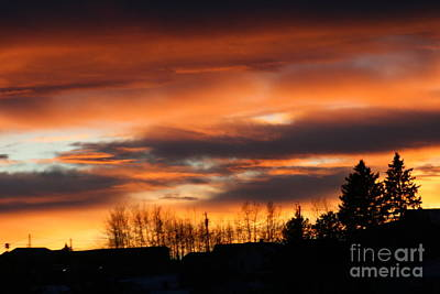 Photograph - Cripple Creek Sunset by Tony Baca