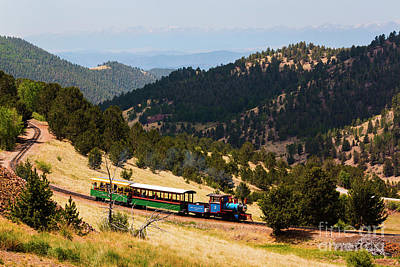 Photograph - Cripple Creek Victor Narrow Gauge Rr by Steve Krull
