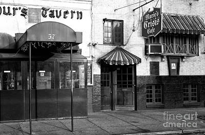 Greenwich Village Photograph - Crisis Cafe by John Rizzuto