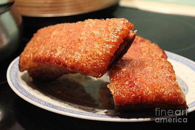 Photograph - Crispy Pork Belly by Katy Mei