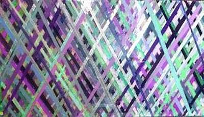 Painting - Criss Cross by Margalit Romano