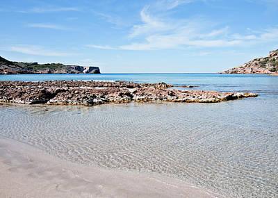 Photograph - Cristaline Beach La Vall by Pedro Cardona Llambias