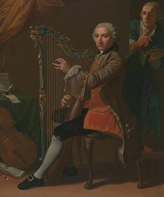 Nathaniel Painting - Cristiano Giuseppe Lidarti And Giovanni Battista Tempesti by Nathaniel Dance