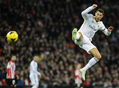 Athletes Royalty-Free and Rights-Managed Images - Cristiano Ronaldo 29 by Rafa Rivas