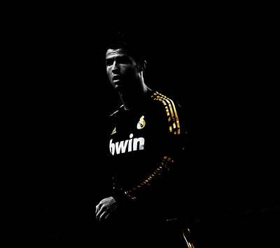 Cristiano Ronaldo Mixed Media - Cristiano Ronaldo 2e by Brian Reaves