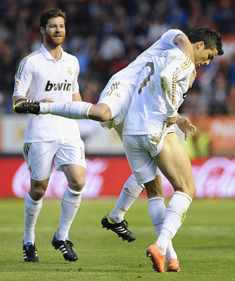 Athletes Royalty-Free and Rights-Managed Images - Cristiano Ronaldo 3 by Rafa Rivas