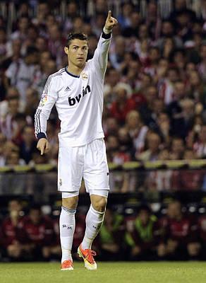 Cristiano Ronaldo Photograph - Cristiano Ronaldo 31 by Rafa Rivas