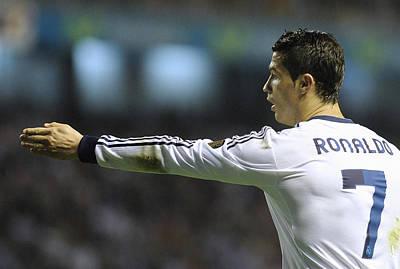 Athletes Royalty-Free and Rights-Managed Images - Cristiano Ronaldo 32 by Rafa Rivas