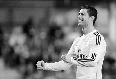 Athletes Royalty-Free and Rights-Managed Images - Cristiano Ronaldo 33 by Rafa Rivas