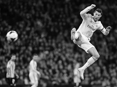 Cristiano Ronaldo Photograph - Cristiano Ronaldo 35 by Rafa Rivas