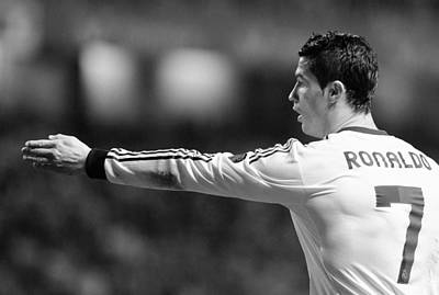 Athletes Royalty-Free and Rights-Managed Images - Cristiano Ronaldo 37 by Rafa Rivas