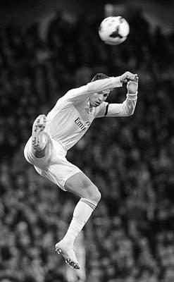 Athletes Royalty-Free and Rights-Managed Images - Cristiano Ronaldo 38 by Rafa Rivas