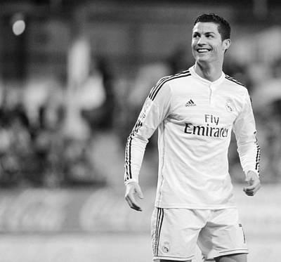 Athletes Royalty-Free and Rights-Managed Images - Cristiano Ronaldo 41 by Rafa Rivas