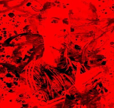 Cristiano Ronaldo Painting - Cristiano Ronaldo 4a  by Brian Reaves