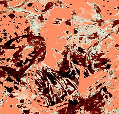 Cristiano Ronaldo Painting - Cristiano Ronaldo 4c by Brian Reaves