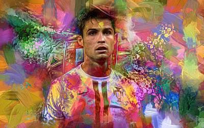 Cristiano Ronaldo - Color Dreams  Original by Daniel Arrhakis