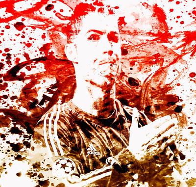 Cristiano Ronaldo Painting - Cristiano Ronaldo Cr7 by Brian Reaves