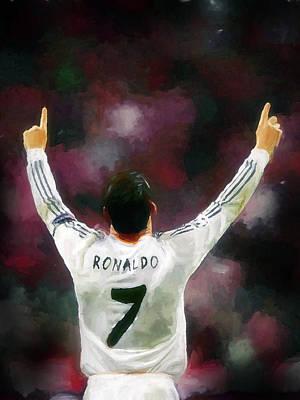 Cristiano Ronaldo Digital Art - Cristiano Ronaldo by Plamen Petkov