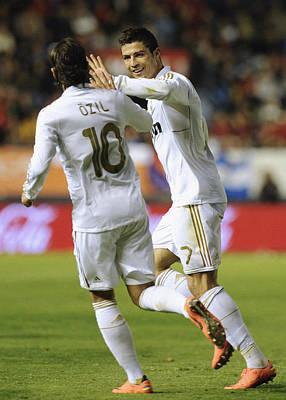 Athletes Royalty-Free and Rights-Managed Images - Cristiano Ronaldo by Rafa Rivas